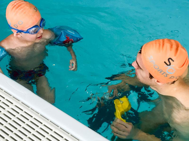 stage de natation à la piscine Triton à Evere