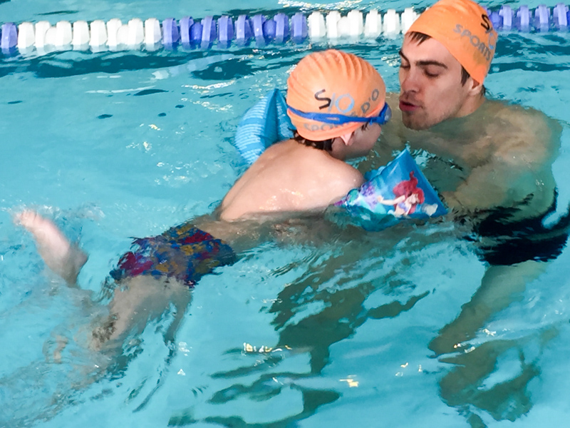 stage de piscine Triton à Evere