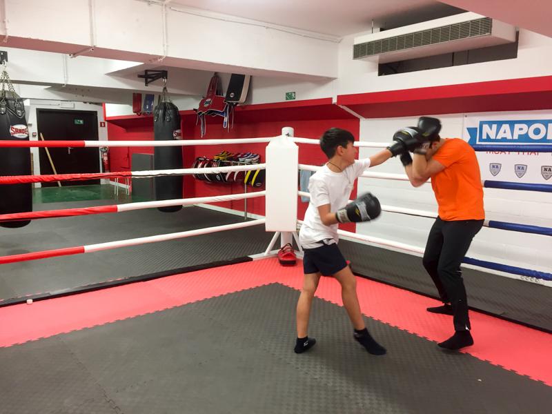 stage de boxe pour enfant au centre sportif Tritonstage de boxe pour enfant au centre sportif Triton