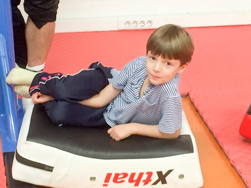 stage de boxe pour enfant au centre sportif Triton